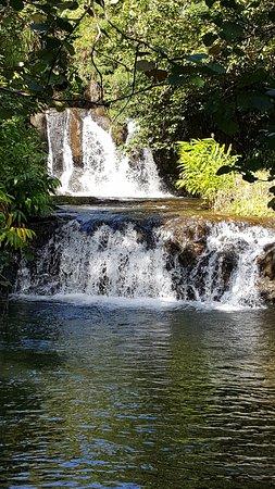 Kauai ATV: Waterfall along the way