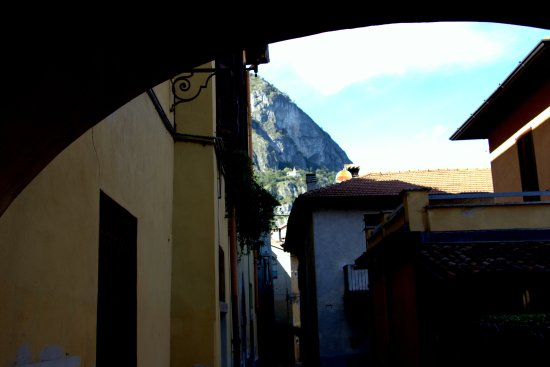 Griante, Italy: St Martino in the distance
