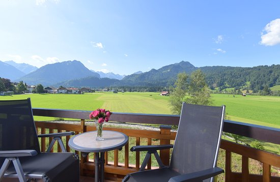 Best Western Plus Hotel Alpenhof: Panorama-Aussicht im Zimmer