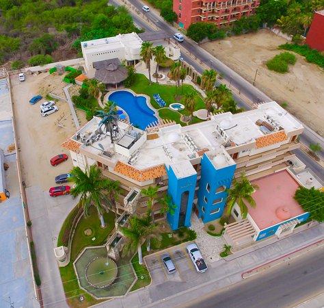 El Ameyal Hotel & Family Suites: Foto Aerea del Hotel El Ameyal & Family Suites