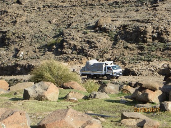 Sani Pass, Lesoto: If that can come up the pass, anything can