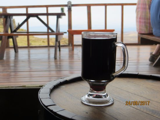 Sani Pass, Lesotho: best Gluhwein by far