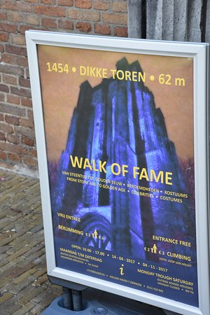 Zierikzee, The Netherlands: Walk of Fame overview