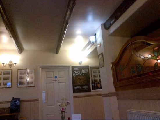 The White Horse Inn: Another View from my table inside Inn