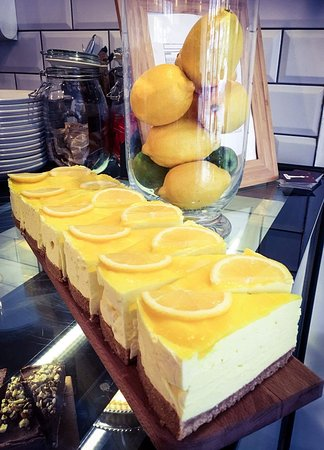 Burry Port, UK: Lemon cheesecake