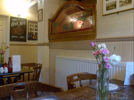 The White Horse Inn: Another view from my table inside