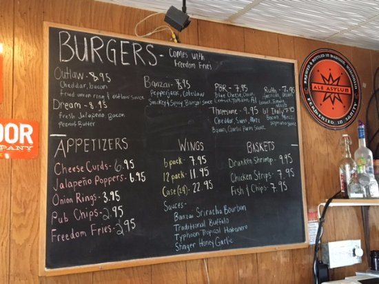 Stoughton, WI: Menu