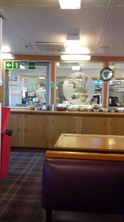 Caledonian MacBrayne - Day Trips to Arran & Argyll: Cafe area on the ferry
