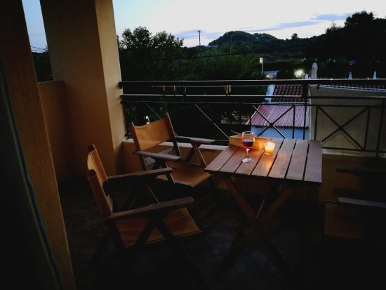 Sunset Hotel & Apartments: Balcony (room 119)