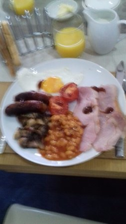 Carradale, UK : Lovely breakfast