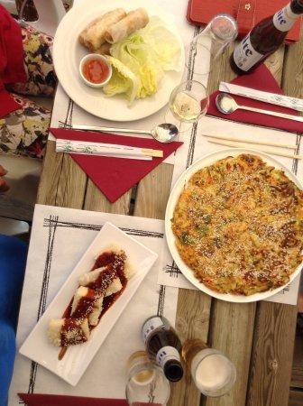 Saillagouse, Francja: Pancake, tofu, nems