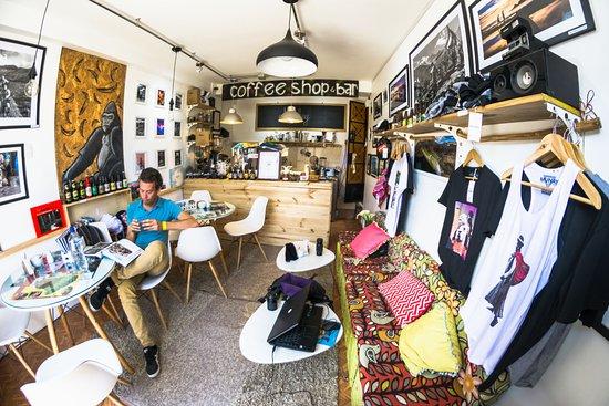 Quaint little coffee shop - Monkey Coffee, Cusco Traveller