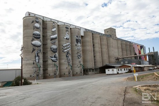 ‪Northam Silo Art‬
