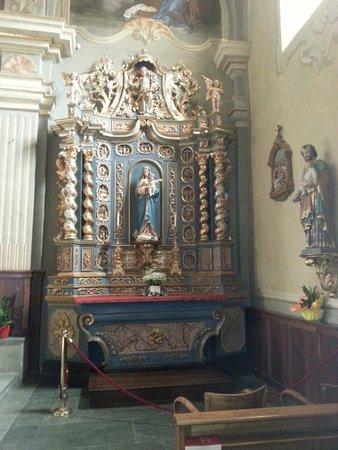 Altare della Vergine della Chiesa di San Pantaleone a Courmayeur