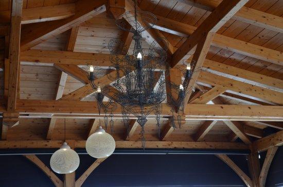Dolcemare : Le plafond et toit de la salle à manger