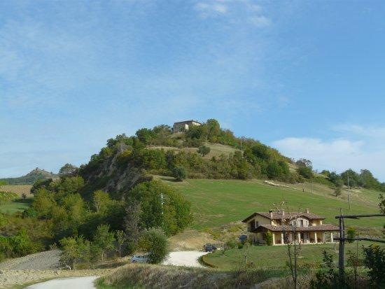 Frontino, Italy: Vista dal giardino