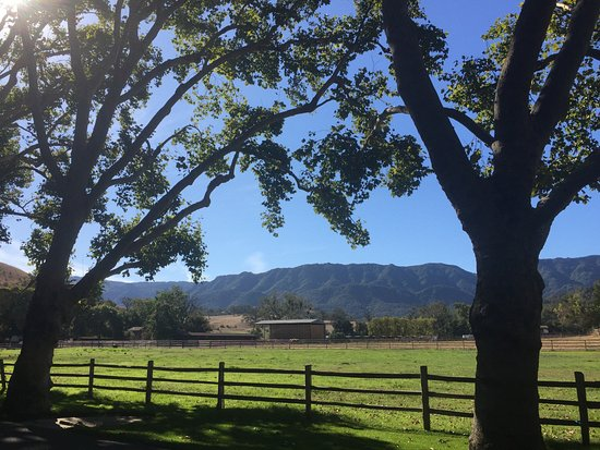 Alisal Guest Ranch & Resort: View from front porch of Suites 61 & 62. Mesmerizing in person!