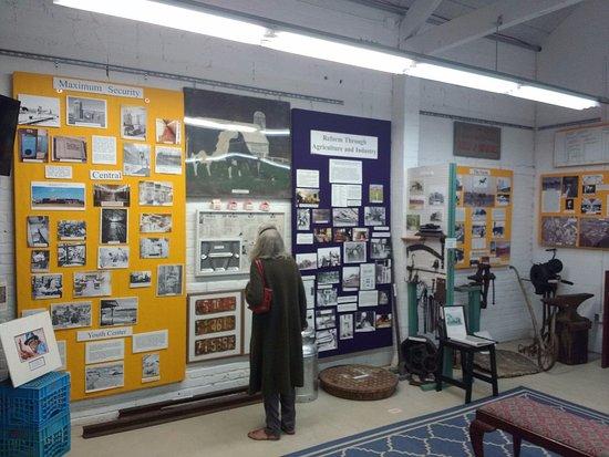 Lorton, VA: Prison museum room
