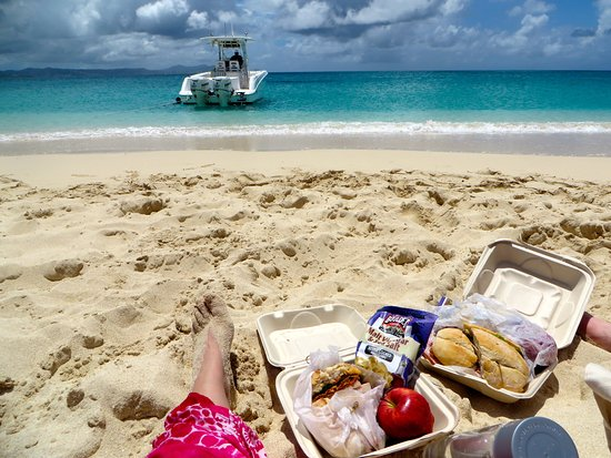 Christiansted, St. Croix: Picnic packed by The Buccaneer Hotel | The Rose Table