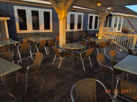 Sugar Creek Seafood Restaurant Patio