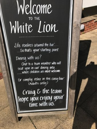 The White Lion: photo1.jpg