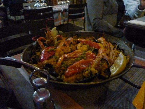 Chez Paco : Mixed Paella