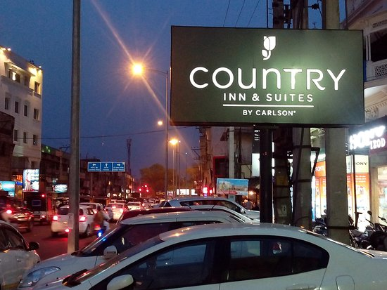 Country Inn & Suites By Carlson-Amritsar, Queens Road: Just outside hotel