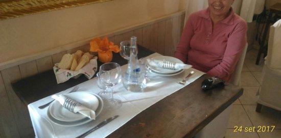 Cortiglione, Italy: I tavoli si presentano molto ben curati come il resto del locale