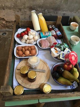Ashburton, UK: Frühstück