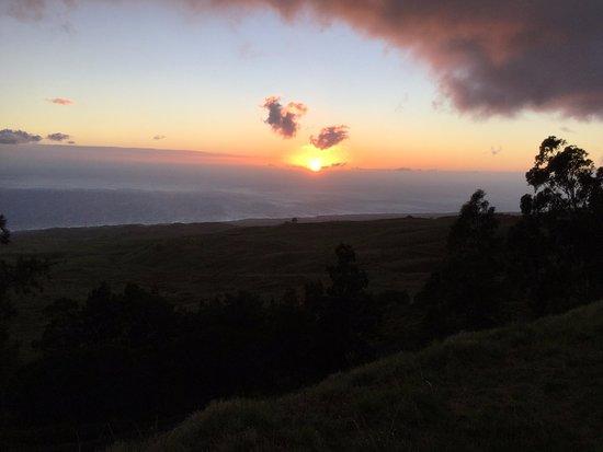 Hawi, Havaí: コハラマウンテンロードの夕日