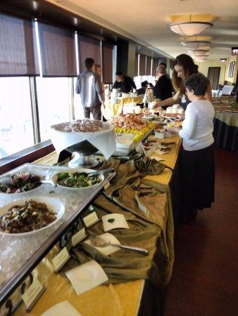brunch buffet - another view