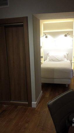 NH Madrid Balboa: habitación individual