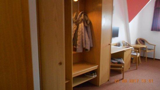Joehstadt, Tyskland: Een blik vanaf de ingangsdeur