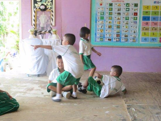 Koh Yao Yai: l'école