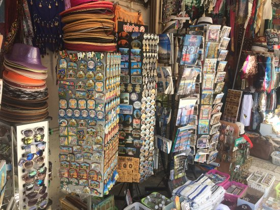 Christian Quarter : Shop at the entrance to the Holy Sepulcher