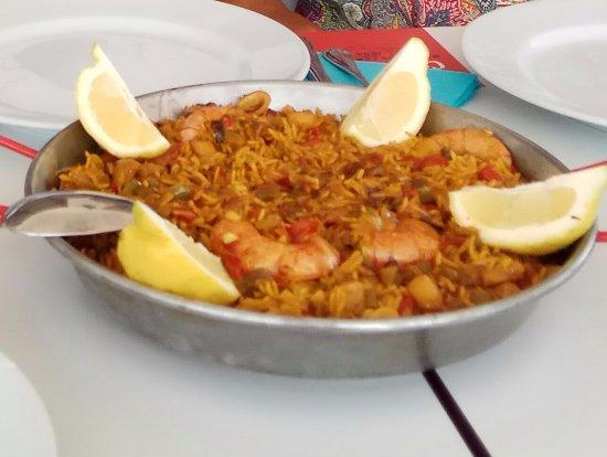 Restaurante La Taranta: Paella marinera
