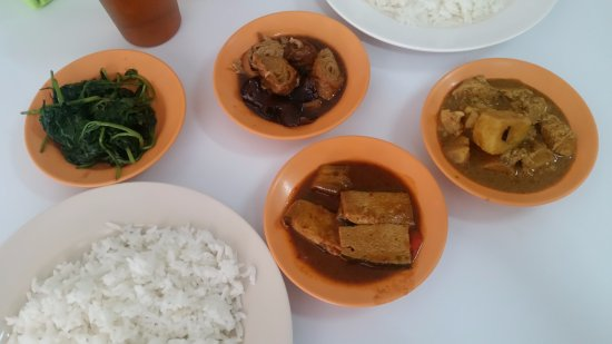 Lahad Datu, Maleisië: Excellent authentic vegetarian Chinese food