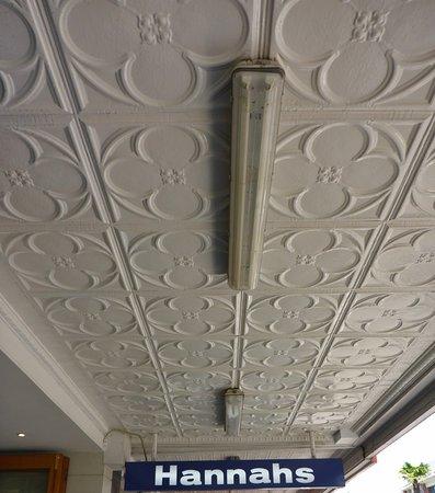 Napier Municipal Theatre: Ceiling on Emerson