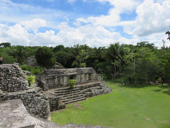 Quintana Roo, Mexico: Vue du haut des édifices