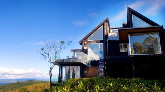 Acacia cliffs lodge taupo nya zeeland omd men och for Design hotel zeeland