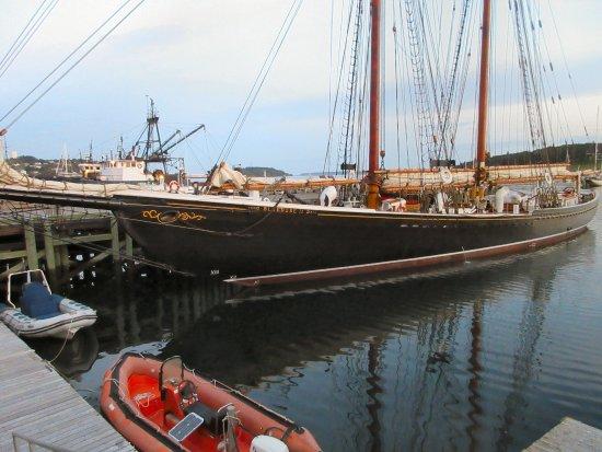 Bluenose II docked in Lunenburg