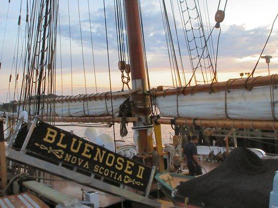 Lunenburg, Canada: Gang Plank to the Bluenose II
