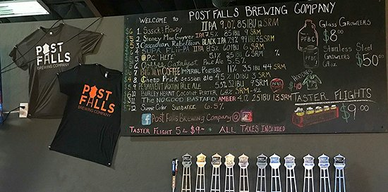 ‪Post Falls Brewing Company‬
