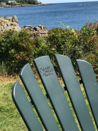 York Harbor, ME: Chair with a view