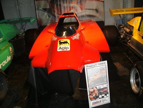 Berthierville, Canadá: carrozzeria ferrari f1 1982