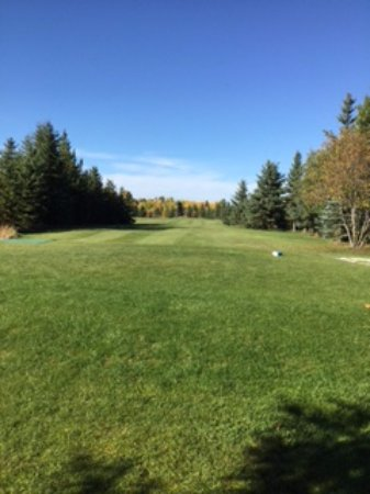Prince George, Canada: a fairway