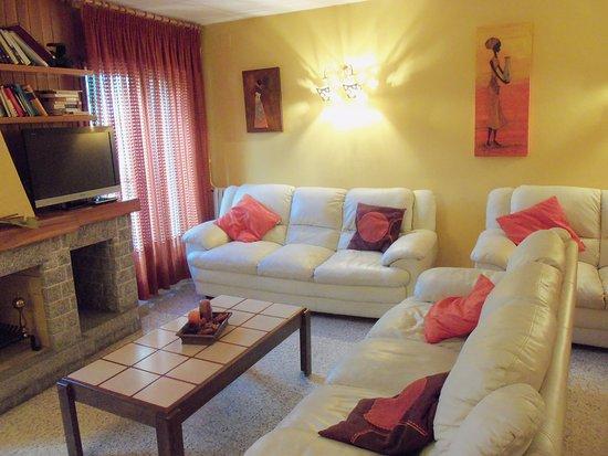 Hotel Sant Roc: Sala lectura