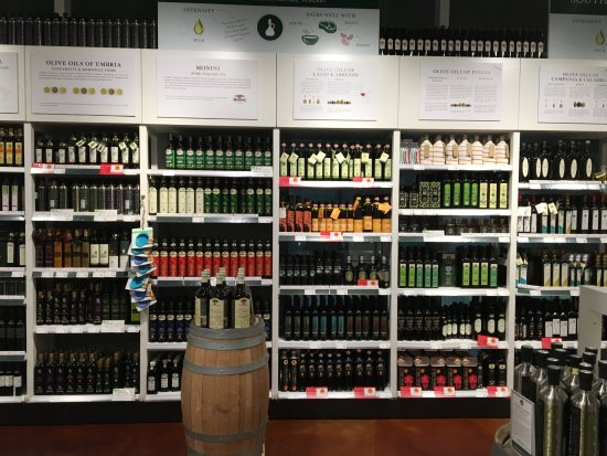 Part Of The Olive Oil Section Picture Of Eataly Downtown