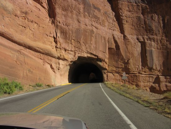 Fruita, CO: One of the tunnels