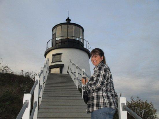 Mount Battie Motel : Owls Head Lighthouse